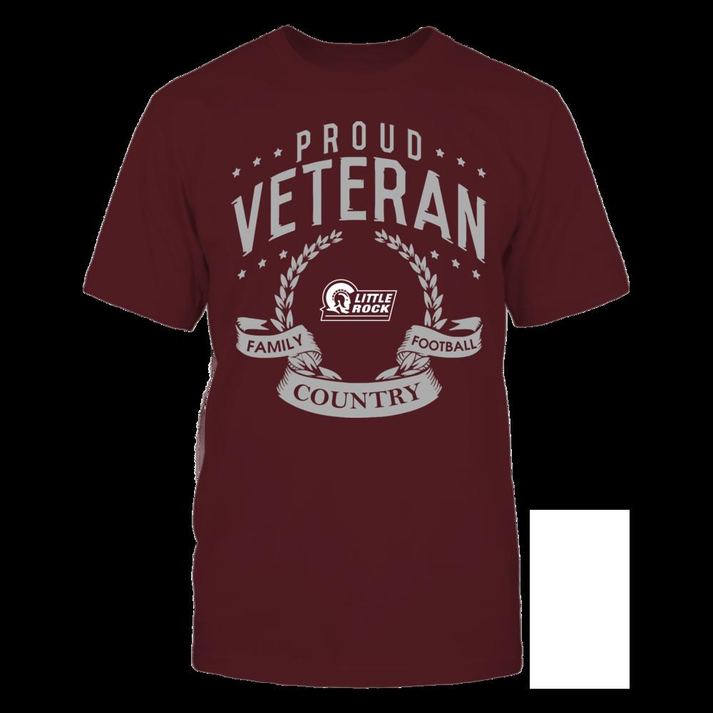 Arkansas Little Rock Trojans - Proud Veteran Front picture