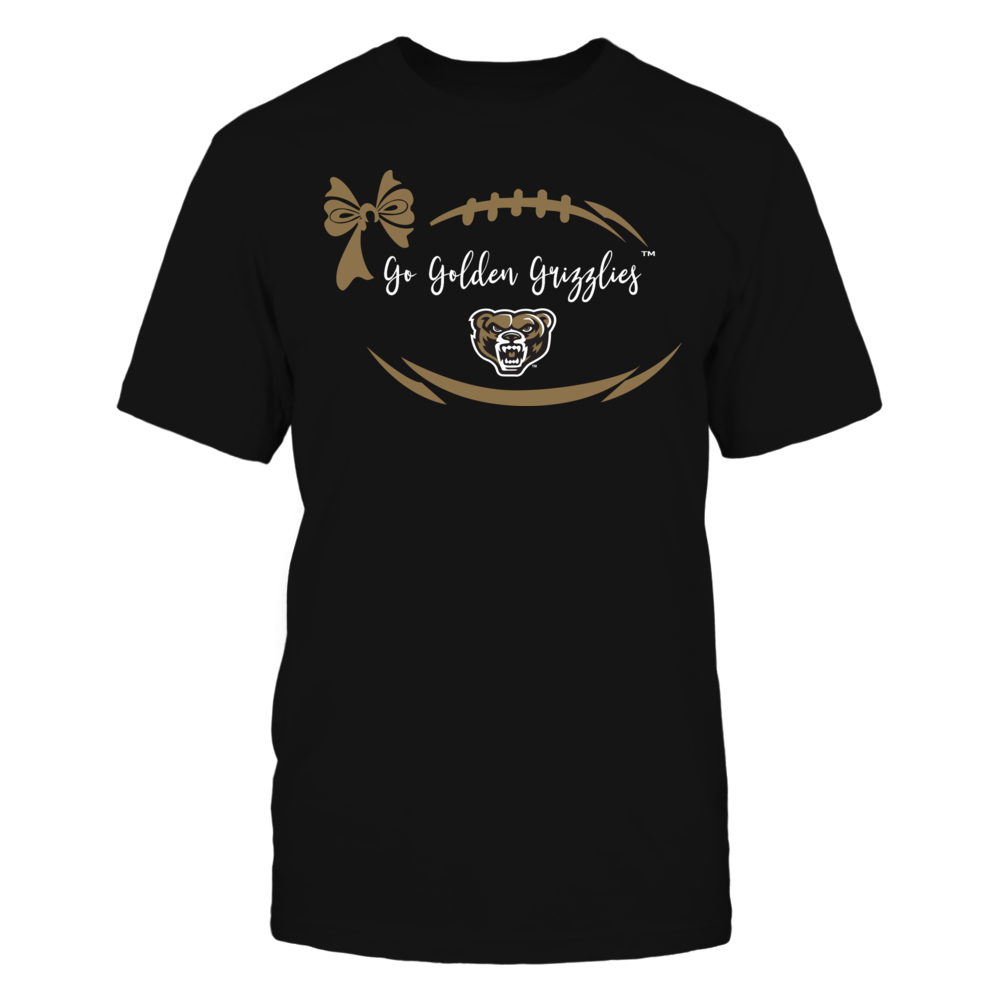 Oakland Golden Grizzlies - Football Bow Front picture