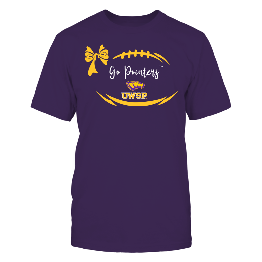 Wisconsin-Stevens Point Pointers - Football Bow Front picture