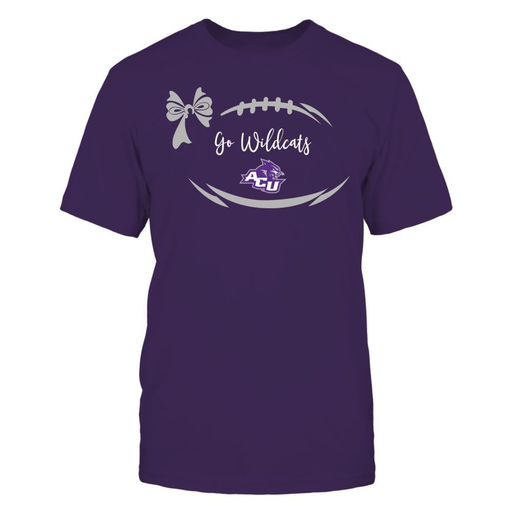 Abilene Christian Wildcats - Football Bow Front picture