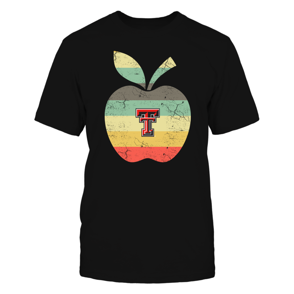 Texas Tech Red Raiders - Teacher - Apple Vintage Graphic Front picture