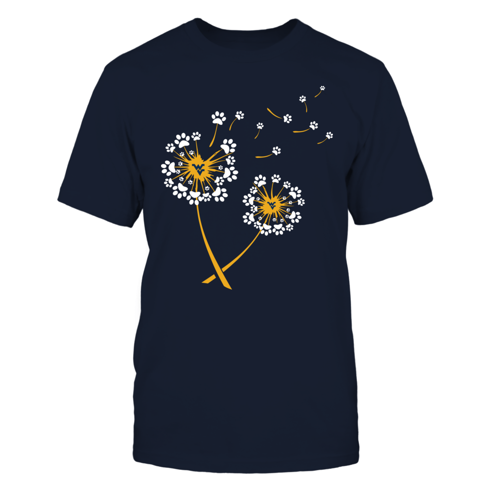 West Virginia Mountaineers - Dandelion - Paw Front picture