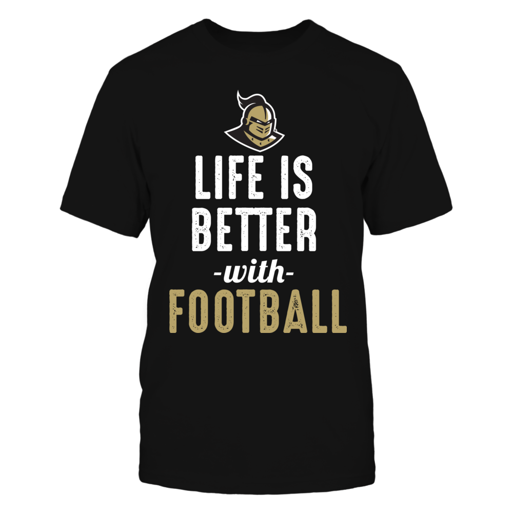 Life Is Better With UCF Football Front picture