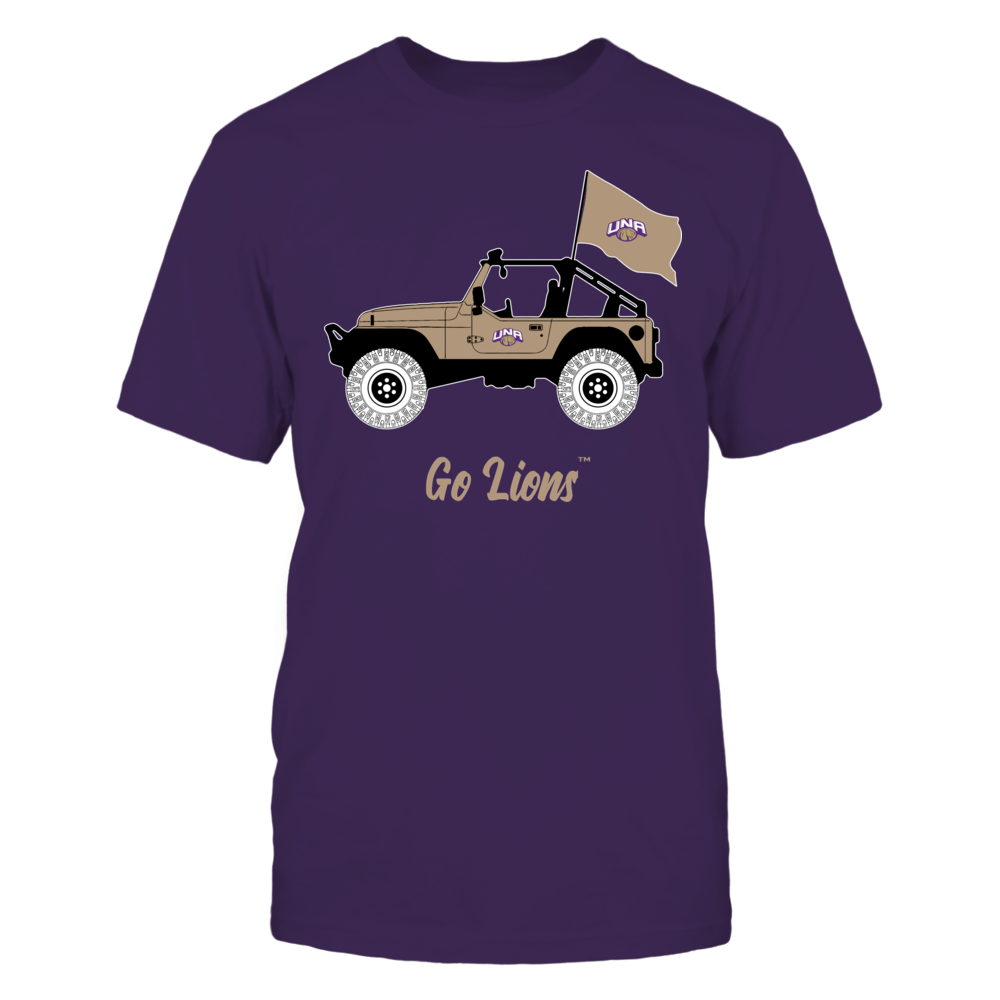 North Alabama Lions - Jeep Front picture