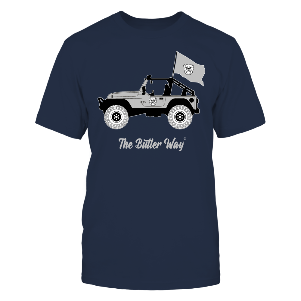 Butler Bulldogs - Jeep - Jeep Car - IF-IC13-DS27 Front picture