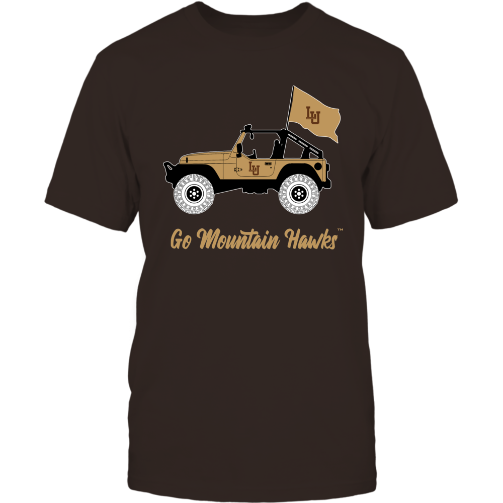 Lehigh Mountain Hawks - Jeep - IF-IC13-DS45 Front picture