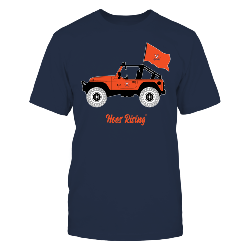 Virginia Cavaliers - Jeep - Banner - IF-IC13-DS64 Front picture