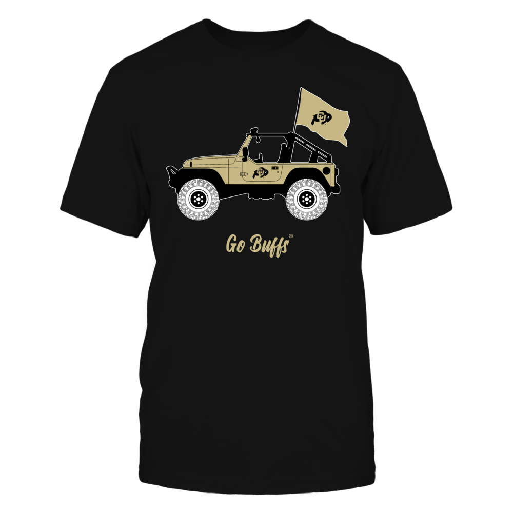 Colorado Buffaloes - Jeep - Banner - IF-IC13-DS64 Front picture
