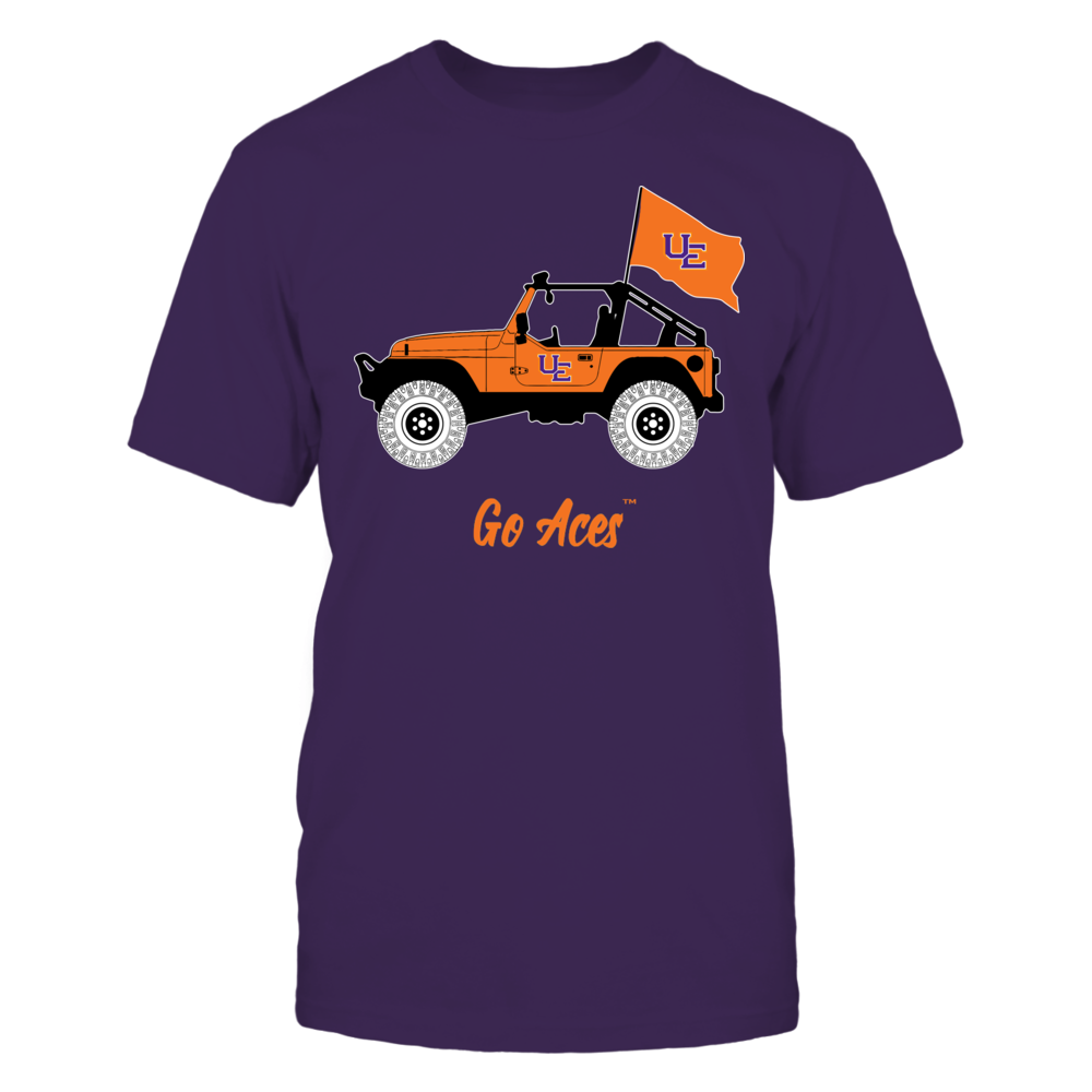 Evansville Purple Aces - Jeep Front picture