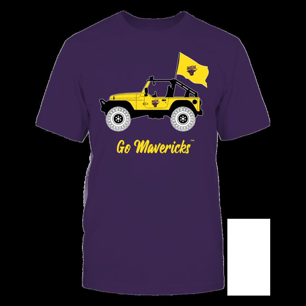 Minnesota State Mavericks - Jeep Front picture
