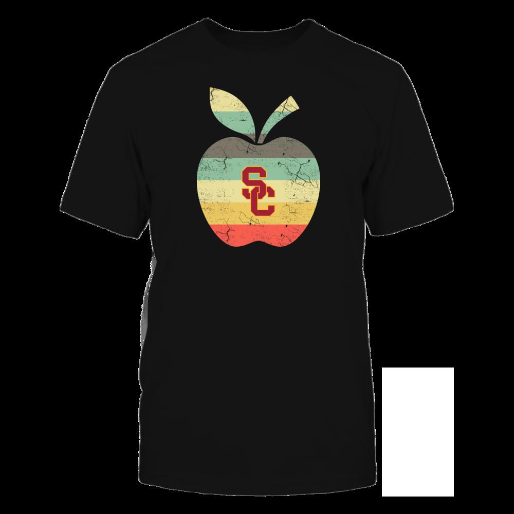 USC Trojans - Teacher - Apple Vintage Front picture