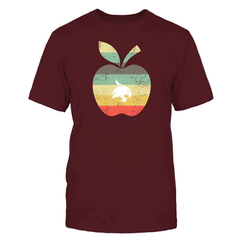 Texas State Bobcats - Teacher - Apple Vintage Front picture