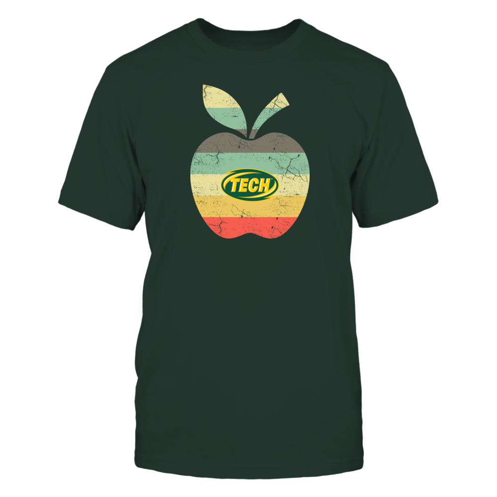 Arkansas Tech Golden Suns - Teacher - Apple Vintage Front picture