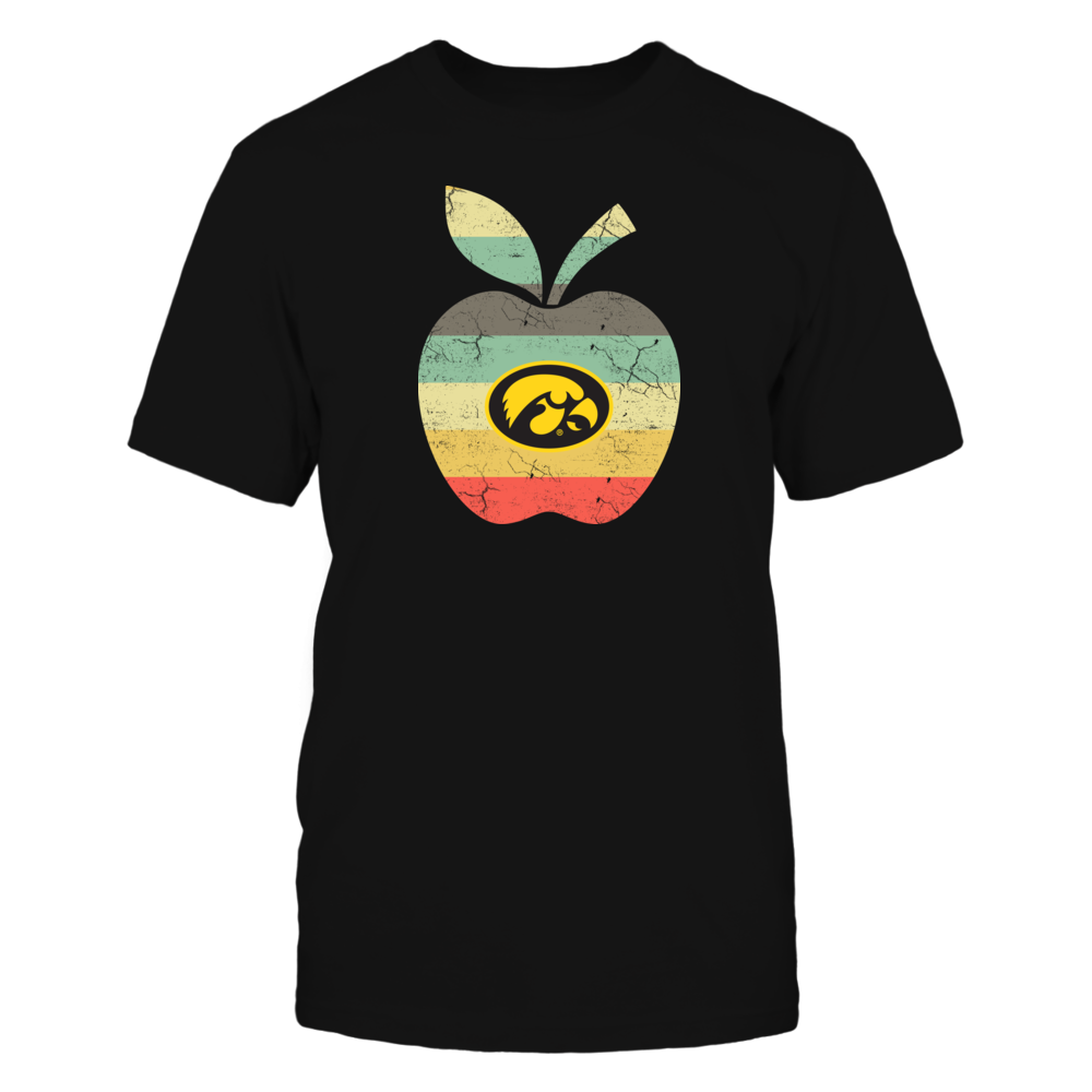 Iowa Hawkeyes - Teacher - Apple Vintage Front picture