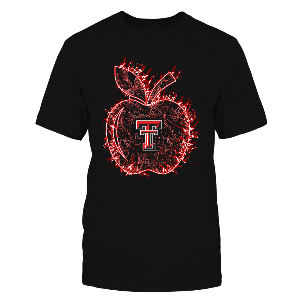 Texas Tech Red Raiders - Teacher - Apple On Fire Front picture