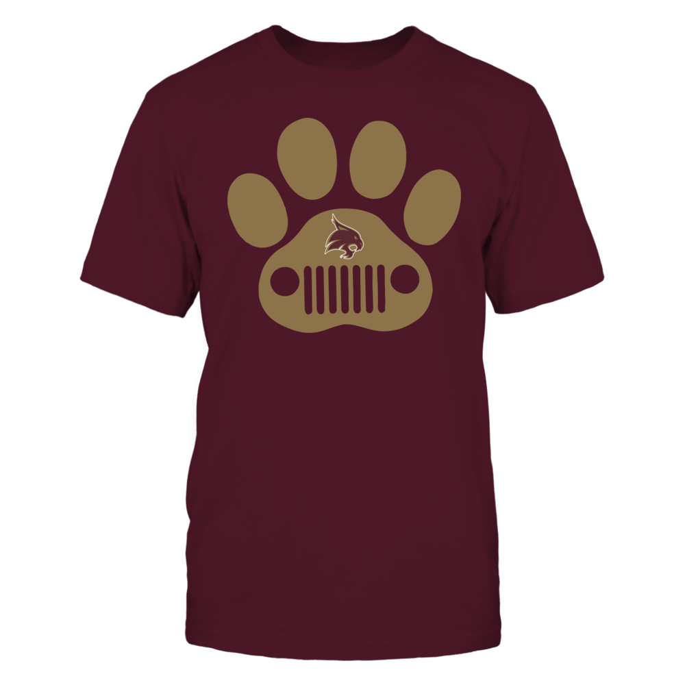 Texas State Bobcats - Jeep - Jeep Paw Front picture