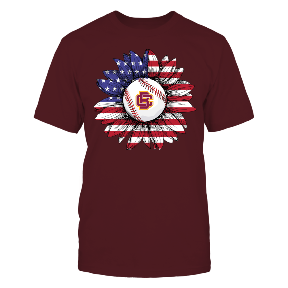 Bethune-Cookman Wildcats - Flag Pattern - Sunflower - Baseball Front picture