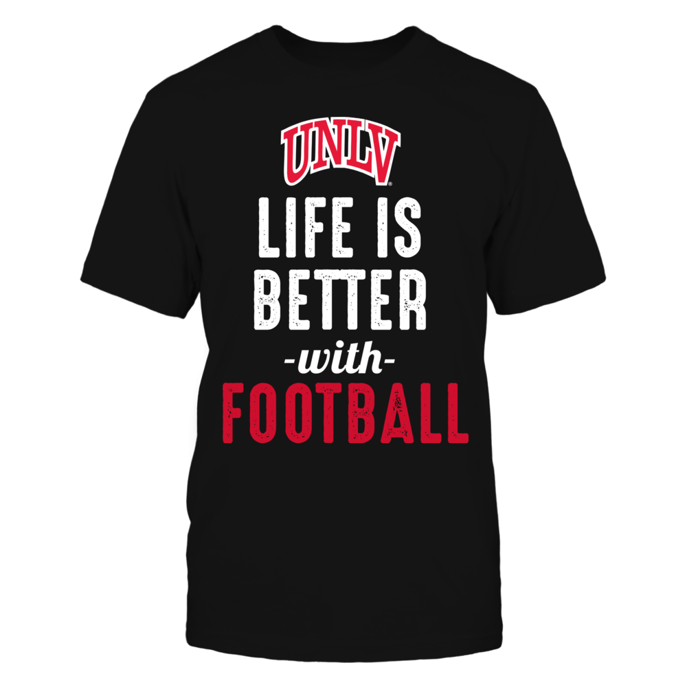 UNLV Rebels - Life is Better with Football Front picture