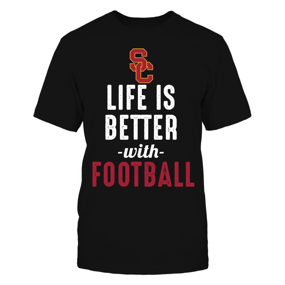 USC Trojans - Life is Better with Football Front picture