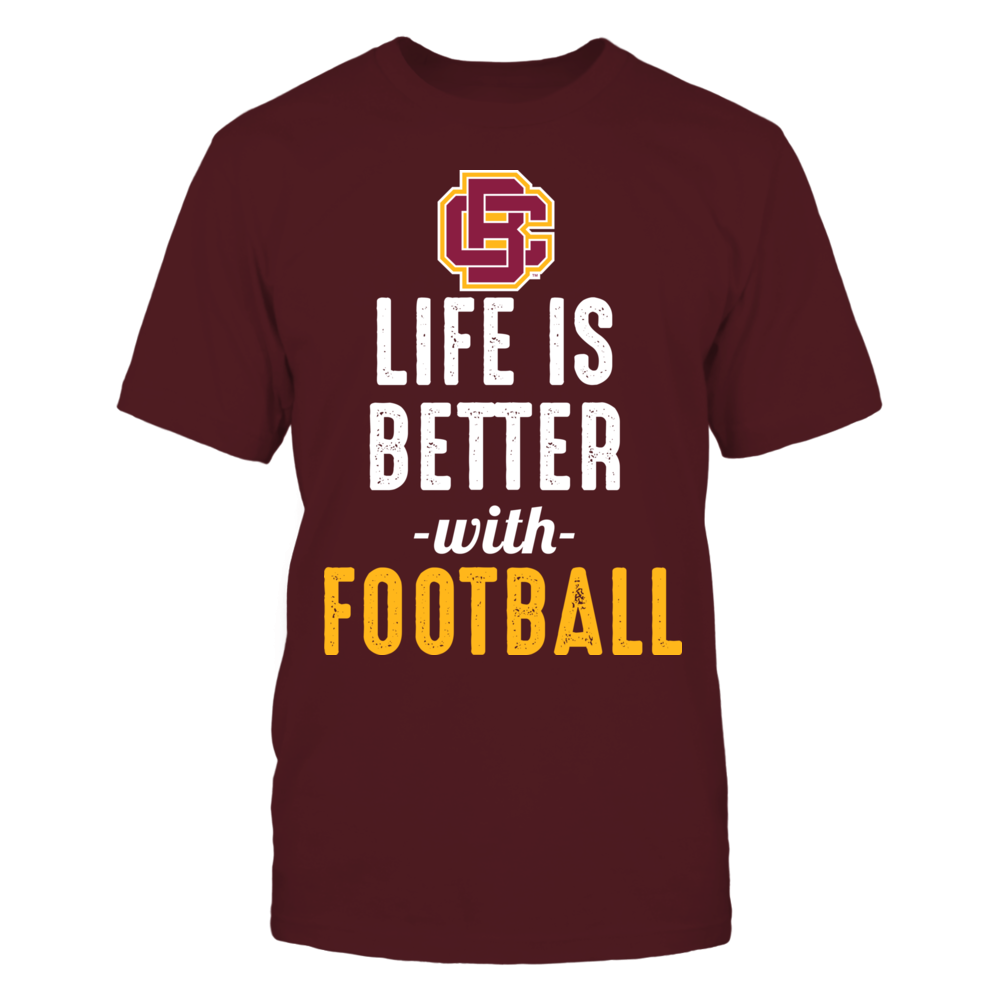 Bethune-Cookman Wildcats - Life is Better with Football Front picture