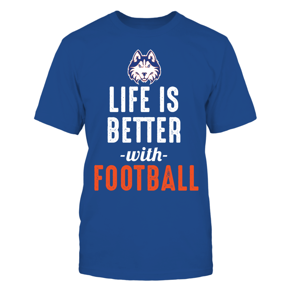 Houston Baptist Huskies - Life is Better with Football Front picture