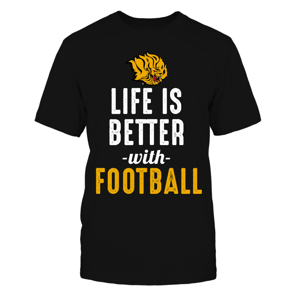 Arkansas Pine Bluff Golden Lions - Life is Better with Football Front picture