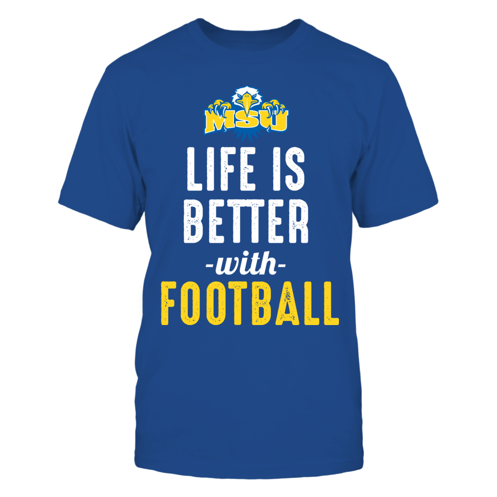 Morehead State Eagles - Life is Better with Football Front picture