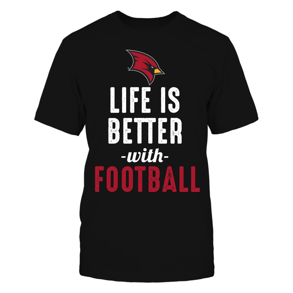 Saginaw Valley State Cardinals - Life is Better with Football Front picture