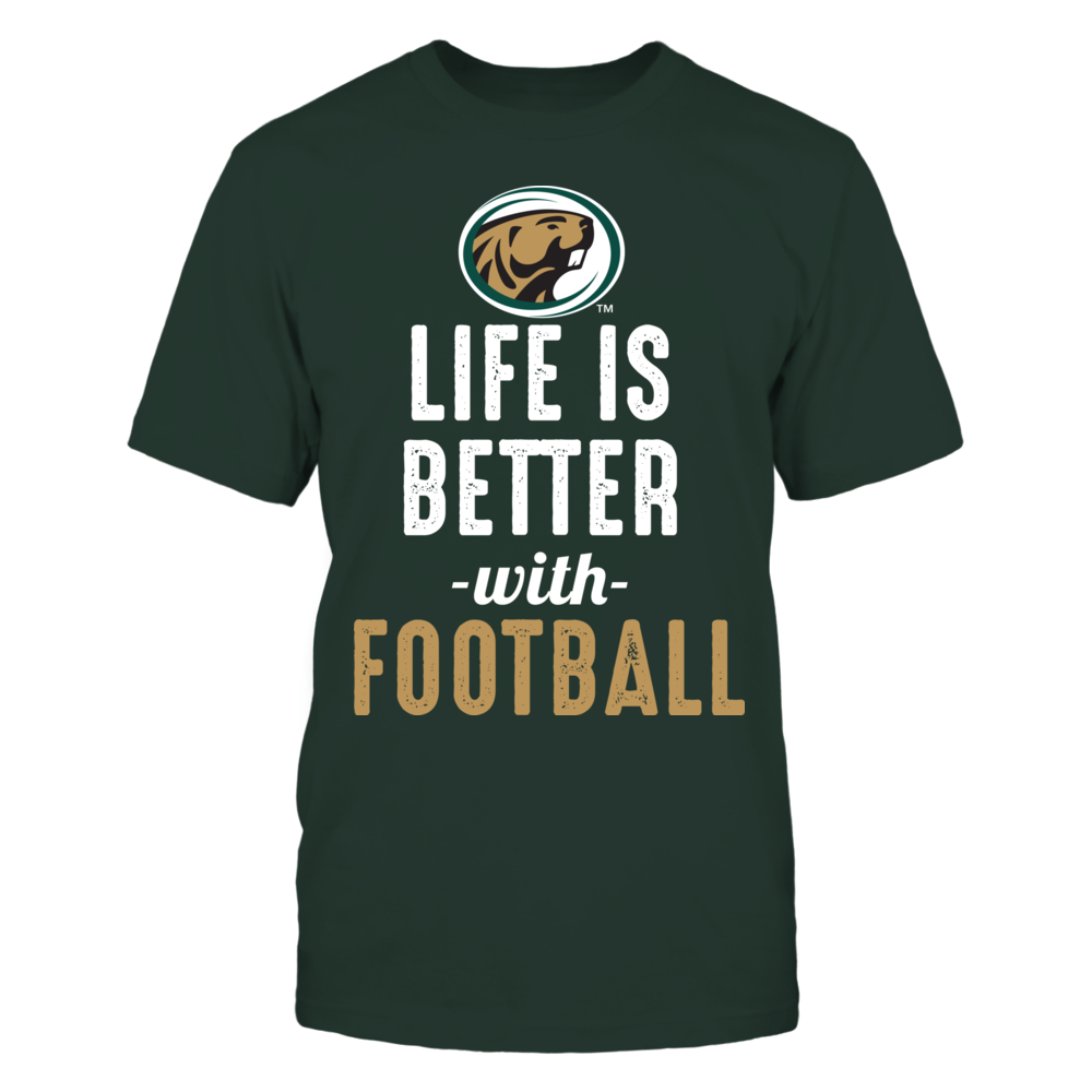 Bemidji State Beavers - Life is Better with Football Front picture