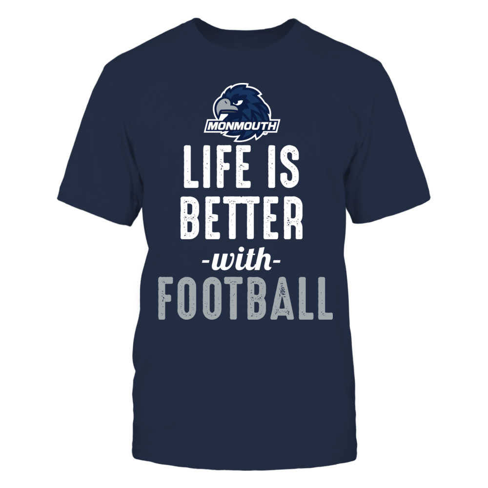 Monmouth Hawks - Life is Better with Football Front picture