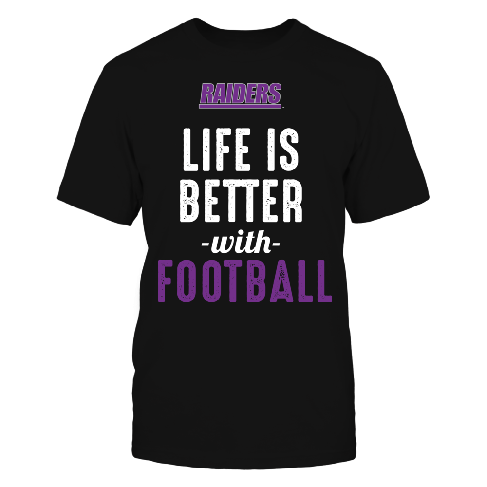 Mount Union Raiders - Life is Better with Football Front picture
