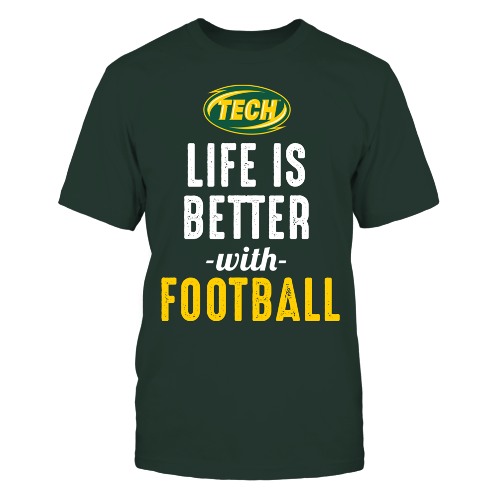 Arkansas Tech Golden Suns - Life is Better with Football Front picture