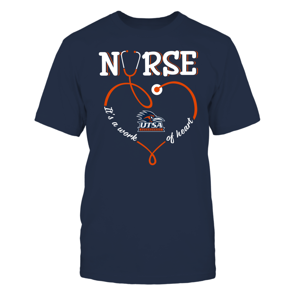 UTSA Roadrunners - Nurse - Work of Heart Front picture