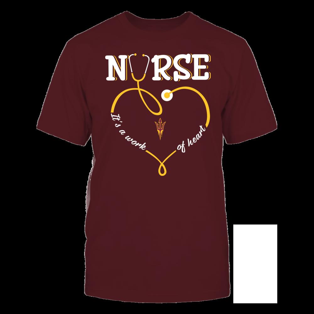 Arizona State Sun Devils - Nurse - Work of Heart Front picture