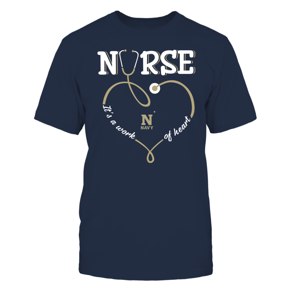 Navy Midshipmen - Nurse - Work of Heart Front picture