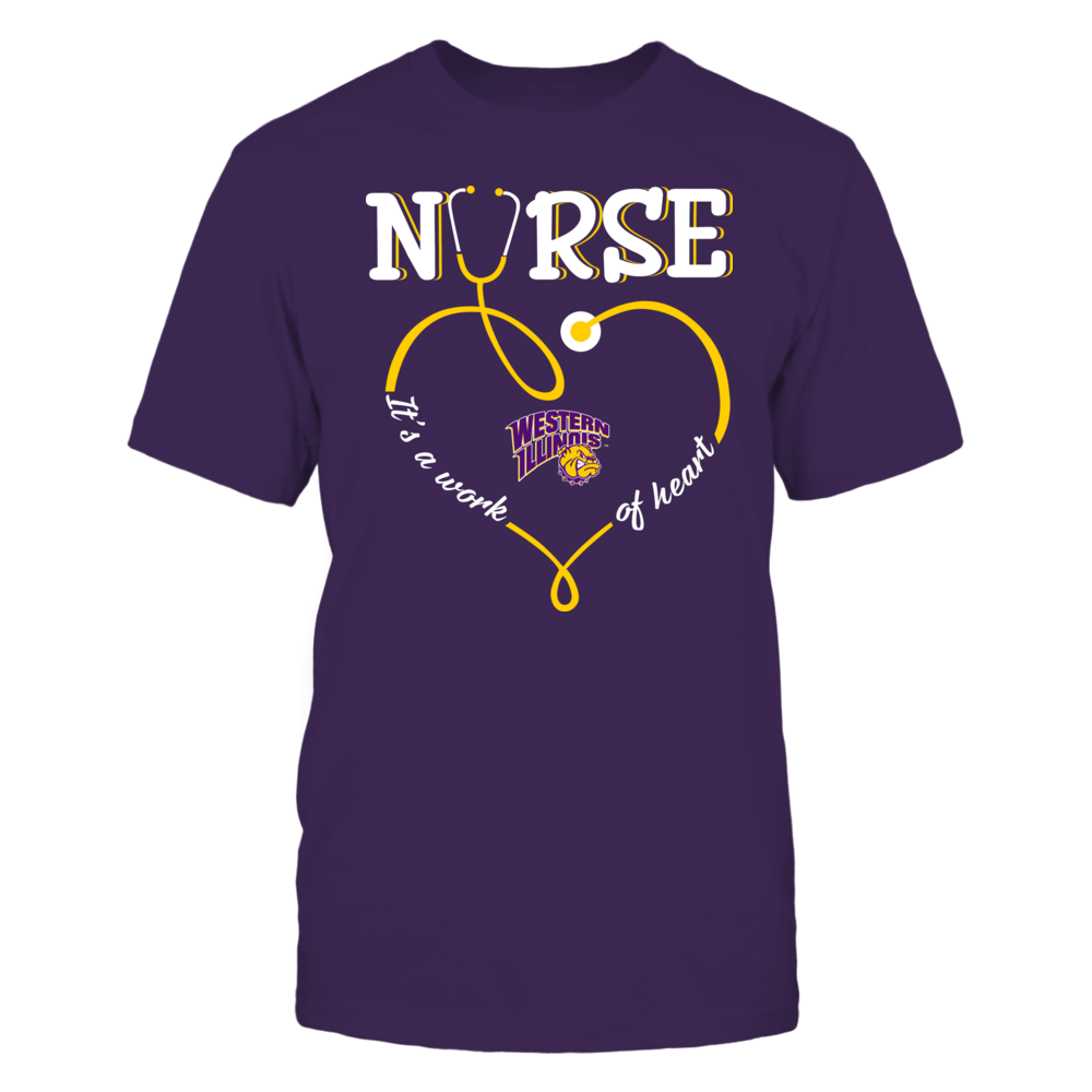 Western Illinois Leathernecks - Nurse - Work of Heart Front picture