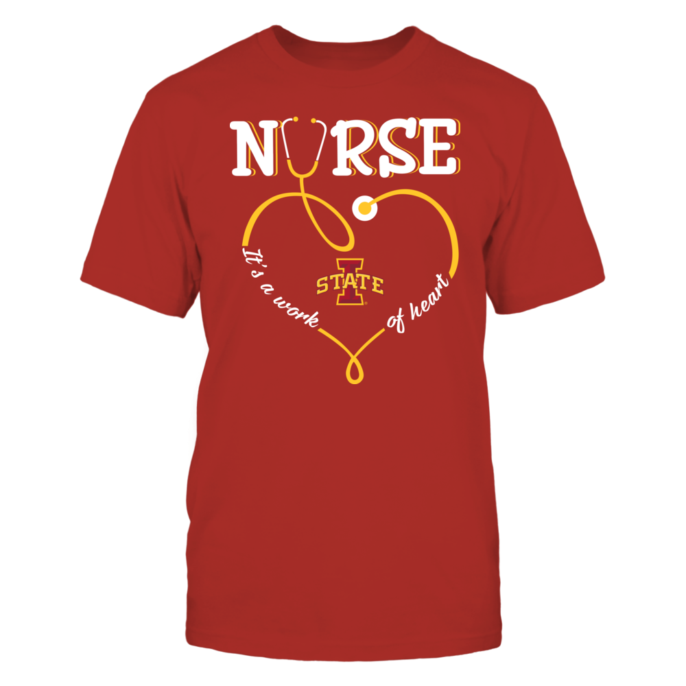 Iowa State Cyclones - Nurse - Work of Heart Front picture