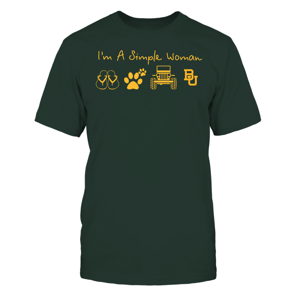 Baylor Bears - Simple Woman - Team Front picture
