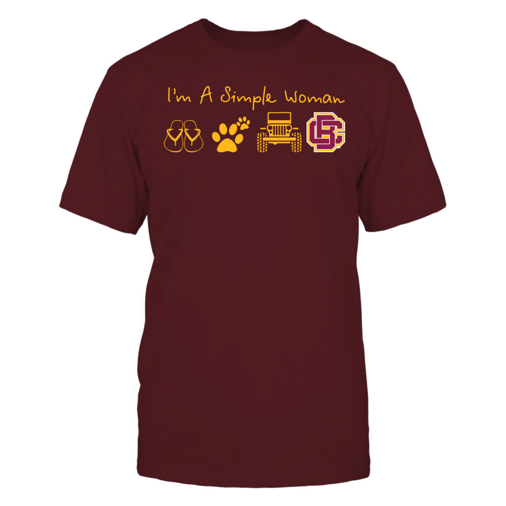 Bethune-Cookman Wildcats - Simple Woman - Team Front picture