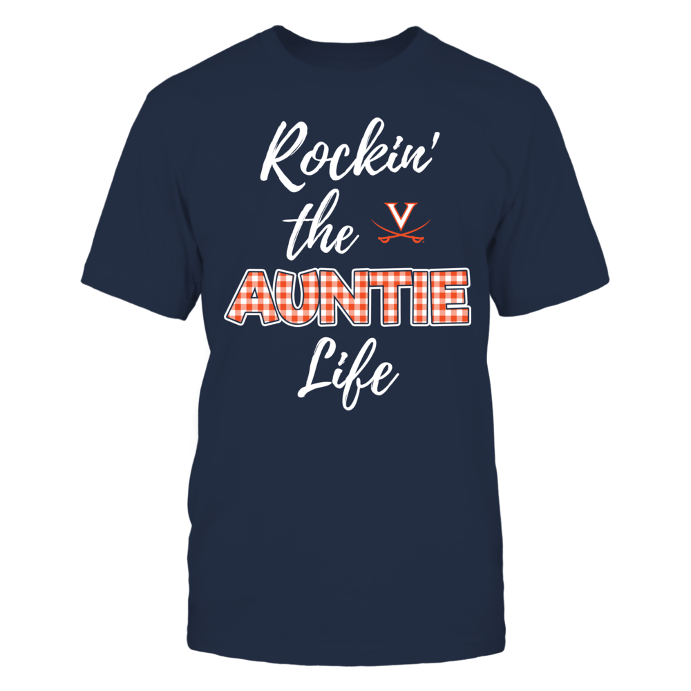 Virginia Cavaliers - Rockin the Auntie Life Front picture
