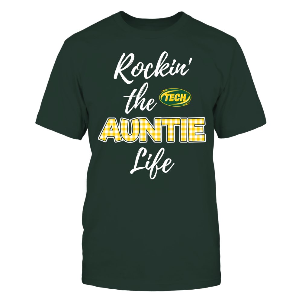 Arkansas Tech Golden Suns - Rockin the Auntie Life Front picture