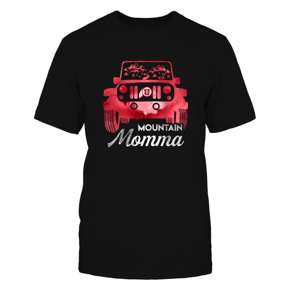 Utah Utes - Mountain Momma Jeep Car Front picture