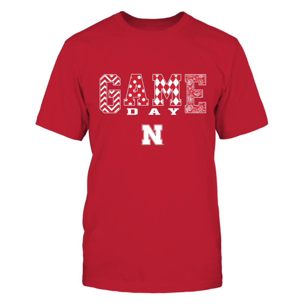 Nebraska Cornhuskers - Game Day Pattern - IF-IC13-DS37 Front picture