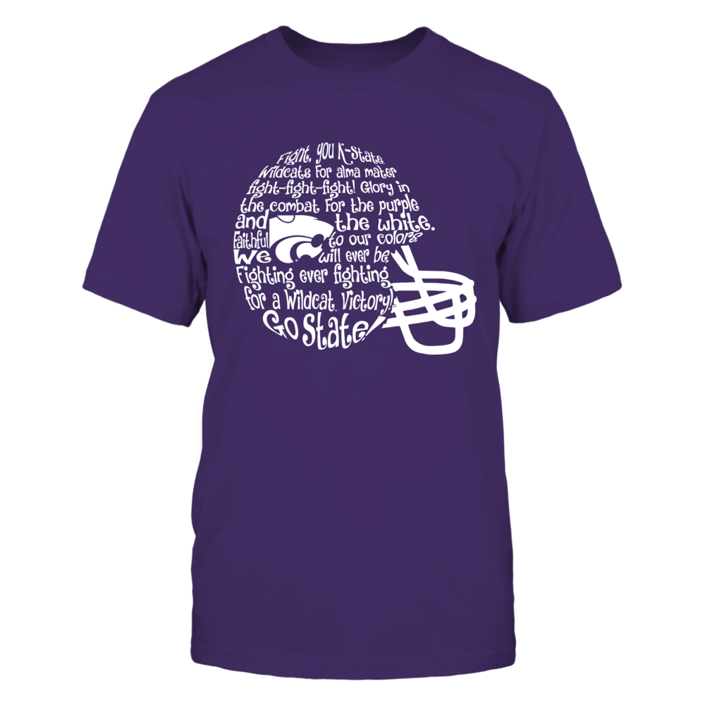 Kansas State Wildcats - Fight Song Inside Helmet Front picture