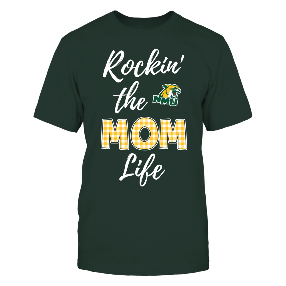Northern Michigan Wildcats - Rockin the Mom Life Front picture