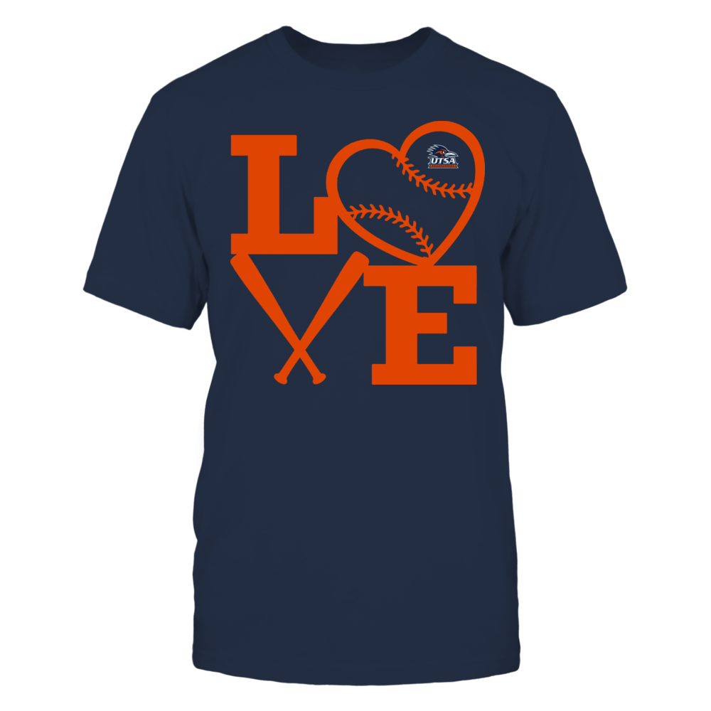 UTSA Roadrunners - Love - Baseball - Heart Front picture