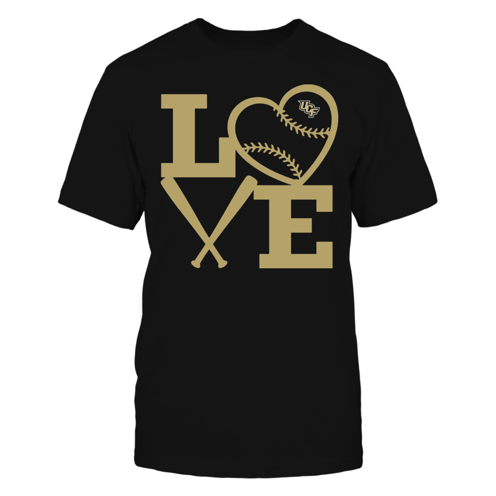 UCF Knights - Love - Baseball - Heart Front picture