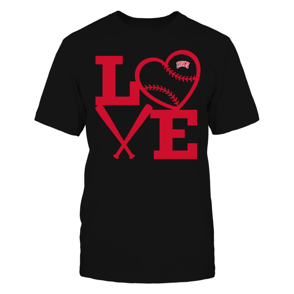 UNLV Rebels - Love - Baseball - Heart Front picture