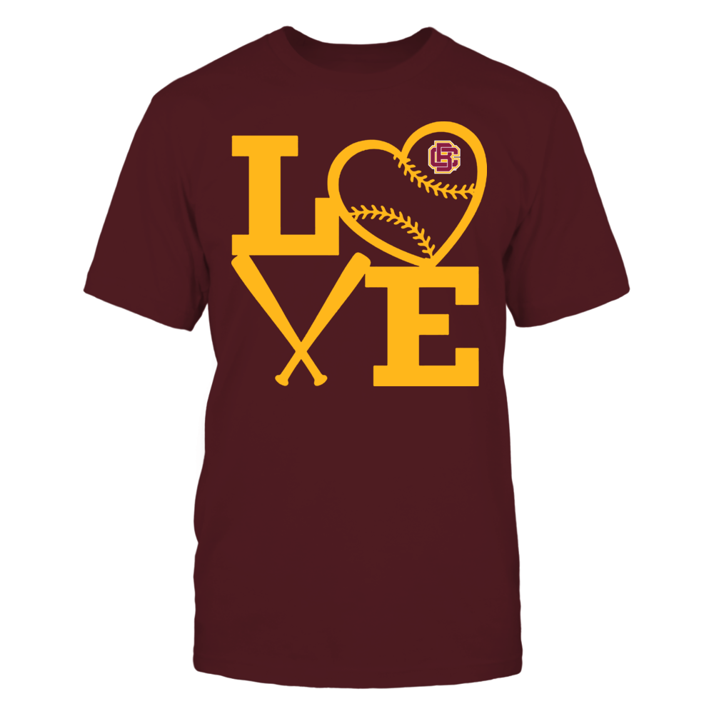 Bethune-Cookman Wildcats - Love - Baseball - Heart Front picture