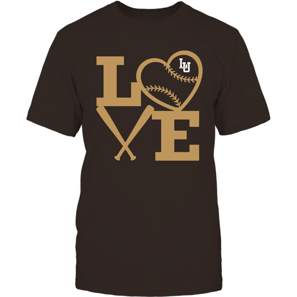 Lehigh Mountain Hawks - Love - Baseball - Heart Front picture